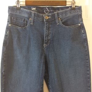 Lee classic Comfort waistband straight leg jeans